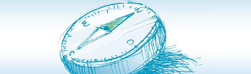 Illustration Kompass