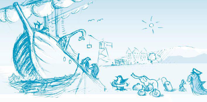 Illustration Schiffsbesatzung